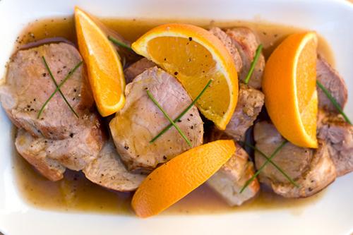 Arrosto di maiale all arancia ricette in tavola for Arrosto maiale