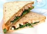 Sandwich di gamberi