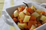 Zucca con patate e paprika